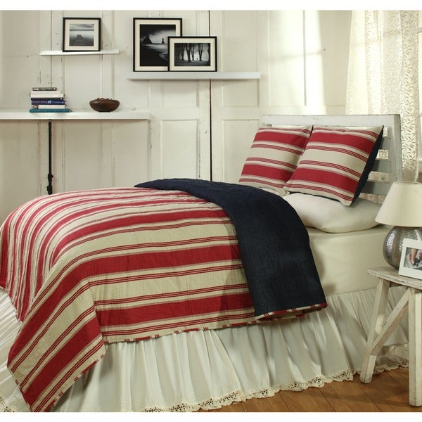 Camden Patriotic Cotton 2-piece Twin Quilt Set - On Sale - Free ... : twin quilt sets - Adamdwight.com