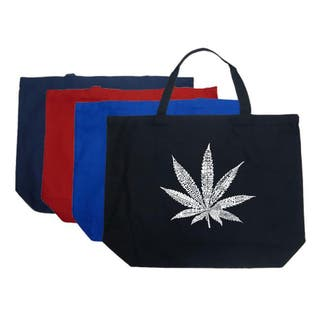 Los Angeles Pop Art Leaf Large Shopping Tote|https://ak1.ostkcdn.com/images/products/4706276/P12620556.jpg?impolicy=medium
