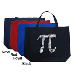 Los Angeles Pop Art 'Pi' Large Shopping Tote
