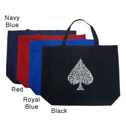 Los Angeles Pop Art Spade Large Shopping Tote|https://ak1.ostkcdn.com/images/products/4706286/Los-Angeles-Pop-Art-Spade-Large-Shopping-Tote-P12620565.jpg?_ostk_perf_=percv&impolicy=medium