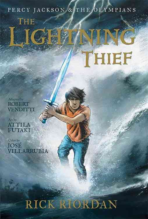 The Lightning Thief: The Lightning Thief (Hardcover)