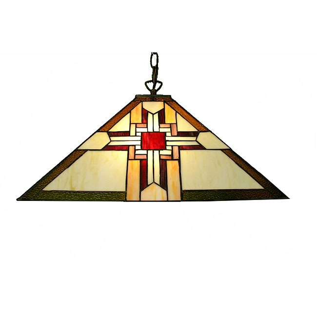 Warehouse of Tiffany Mission-style Light Fixture