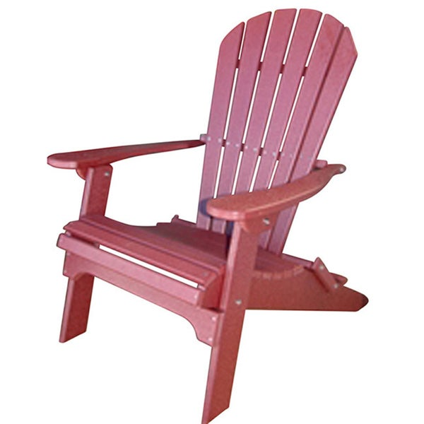 Exceptional Forever Phat Tommy Recycled Poly Folding Adirondack Chair Free Shipping  Today Overstock Com 12623166Forever Phat Tommy Recycled Poly Folding  Adirondack ...