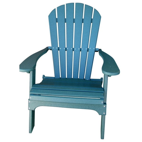 shop forever phat tommy recycled poly folding adirondack chair