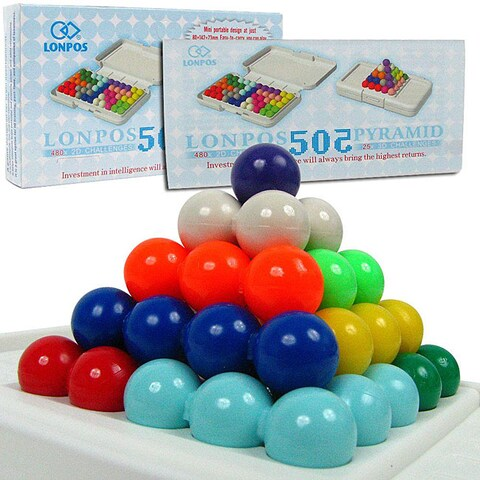 Lonpos 3 Dimensional 505 Brain Intelligence Game
