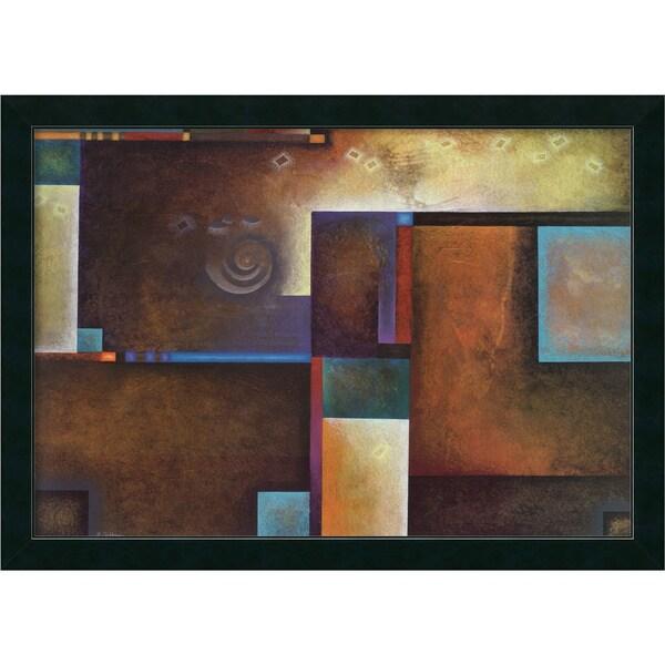 Mari Giddings 'Satori I' Framed Canvas Art
