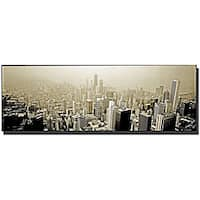 Preston 'Chicago Skyline' Gallery-wrapped Canvas Art