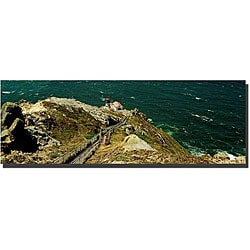 Preston 'Lighthouse' Gallery-wrapped Canvas Art