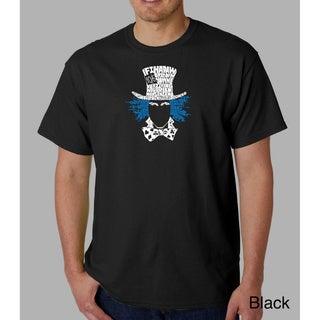 Link to Los Angeles Pop Art Men's Alice in Wonderland T-shirt Similar Items in Shirts