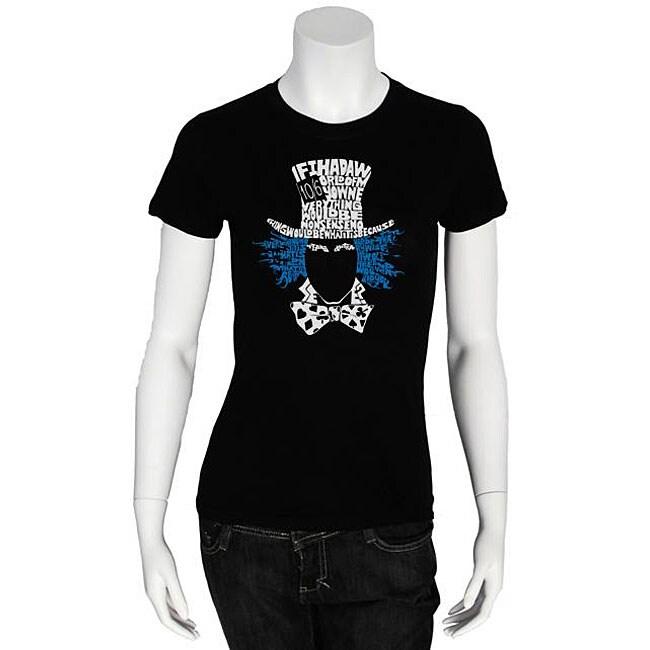 Los Angeles Pop Art Women's 'Mad Hatter' T-shirt