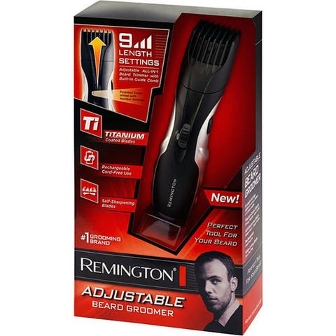 Remington Titanium Adjustable Mustache and Beard Trimmer