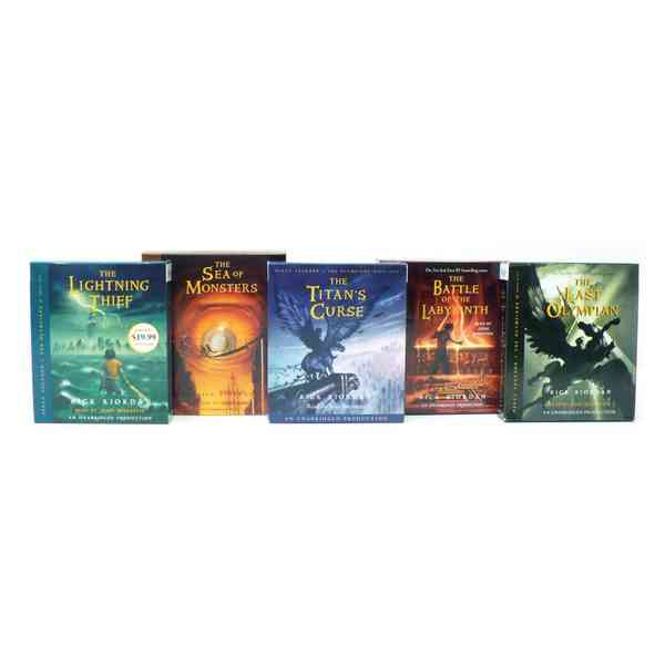 Percy Jackson 5C Prepack: The Last Olympian / the Sea of Monsters / the Titan's Curse / the Battle of the Labyrint... (CD-Audio)