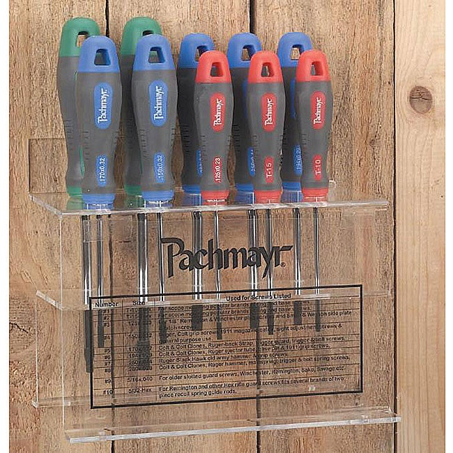 pachmayr master gunsmith 10 piece screwdriver set free shipping today ove. Black Bedroom Furniture Sets. Home Design Ideas