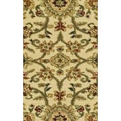Safavieh Lyndhurst Traditional Oriental Ivory/ Black Runner (2'3 x 20') - Thumbnail 2