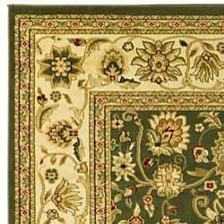 Safavieh Lyndhurst Traditional Oriental Sage/ Ivory Runner (2'3 x 20')