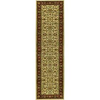 Safavieh Lyndhurst Traditional Oriental Ivory/ Red Runner Rug - 2'3 x 20'