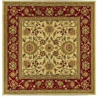 Safavieh Lyndhurst Traditional Oriental Ivory/ Red Rug (8' Square)