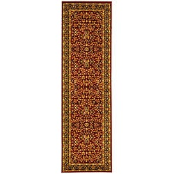 Safavieh Lyndhurst Traditional Oriental Red/ Black Runner (2'3 x 20')