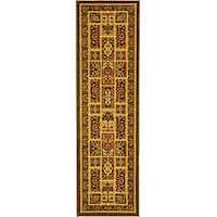 Safavieh Lyndhurst Traditional Oriental Green/ Multi Runner (2'3 x 20')