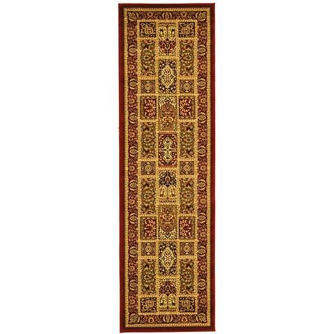 "Safavieh Lyndhurst Traditional Oriental Red/ Multi Runner (2'3 x 16') - 2'3"" x 16'"
