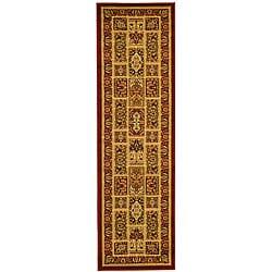 "Safavieh Lyndhurst Traditional Oriental Red/ Multi Runner (2'3 x 16') - 2'3"" x 16' - Thumbnail 0"