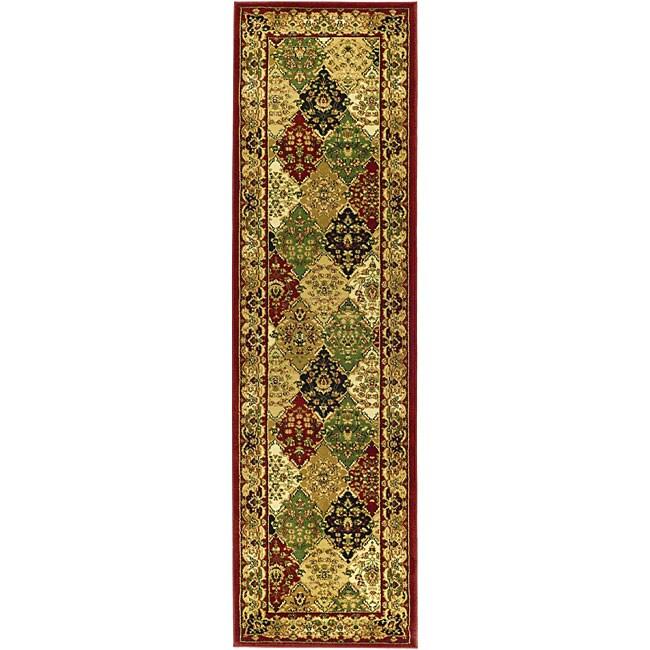 Safavieh Lyndhurst Traditional Oriental Multicolor/ Red Runner (2'3 x 20')