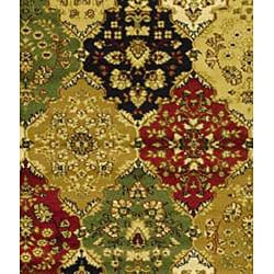 Safavieh Lyndhurst Traditional Oriental Multicolor/ Red Runner (2'3 x 20') - Thumbnail 2