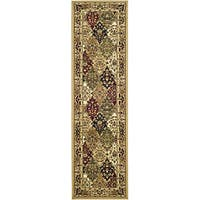 Safavieh Lyndhurst Traditional Oriental Multicolor/ Beige Runner Rug - 2'3 x 12'