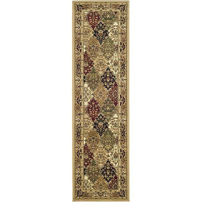 Safavieh Lyndhurst Traditional Oriental Multicolor/ Beige Runner Rug - 2'3 x 16'