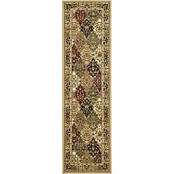 Safavieh Lyndhurst Traditional Oriental Multicolor/ Beige Runner (2' 3 x 20')