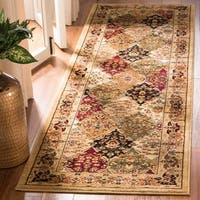 Safavieh Lyndhurst Traditional Oriental Multicolor/ Beige Runner Rug - 2'3 x 8'