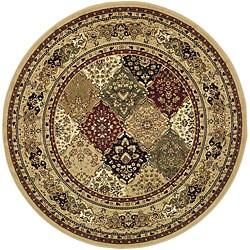 Safavieh Lyndhurst Traditional Oriental Multicolor/ Beige Rug (5' 3 Round)
