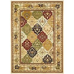 Safavieh Lyndhurst Traditional Oriental Multicolor/ Beige Rug (6' x 9')