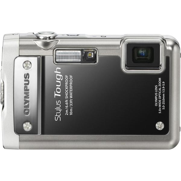 Olympus Stylus 8010 14 Megapixel Compact Camera - Black