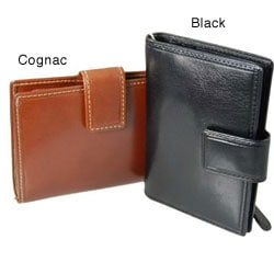Castello 'Colombo' Leather Keychain Wallet