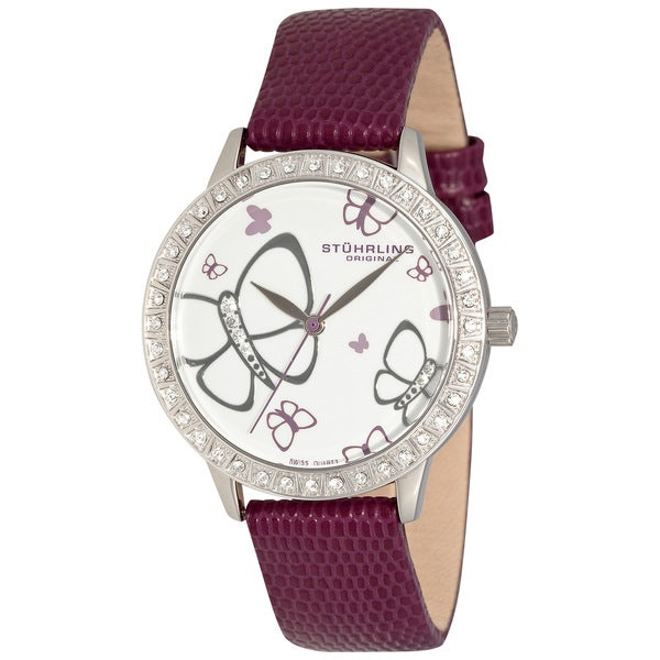 Stuhrling Original Women's 'Fantasia' Crystal Watch