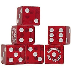 Fabulous Las Vegas 3/4-inch Dice (Set of 25)|https://ak1.ostkcdn.com/images/products/4717623/Fabulous-Las-Vegas-3-4-inch-Dice-Set-of-25-P12629700.jpg?impolicy=medium