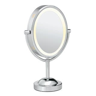 Conair Oval Chrome 1x-7x Double-sided Lighted Mirror|https://ak1.ostkcdn.com/images/products/4717886/P12629816.jpg?impolicy=medium