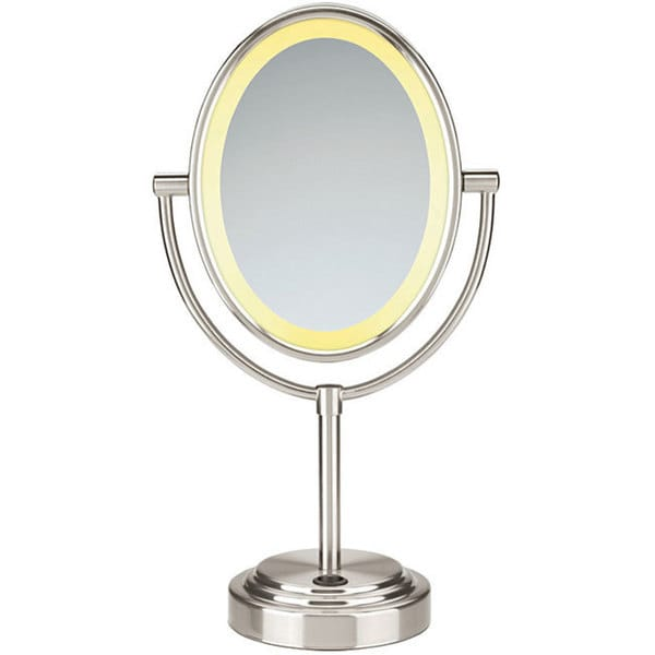 Conair BE47SN Oval Double-sided 1x-7x Illuminated Mirror