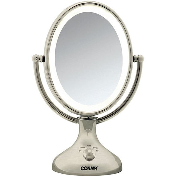 Shop Conair Nickel Double Sided 1x 5x Lighted Makeup