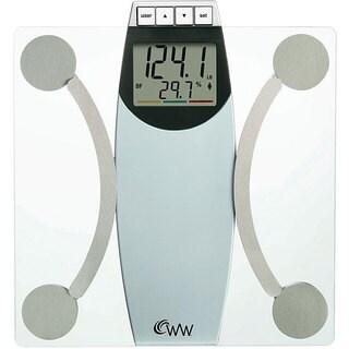 Weight Watchers WW67T Glass Body Analysis Scale