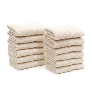 Authentic Hotel Spa Turkish Cotton Washcloth (Set of 12) (4 options available)