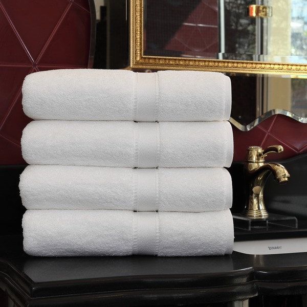 authentic hotel and spa turkish cotton bath towel set of 4 on sale free shipping today