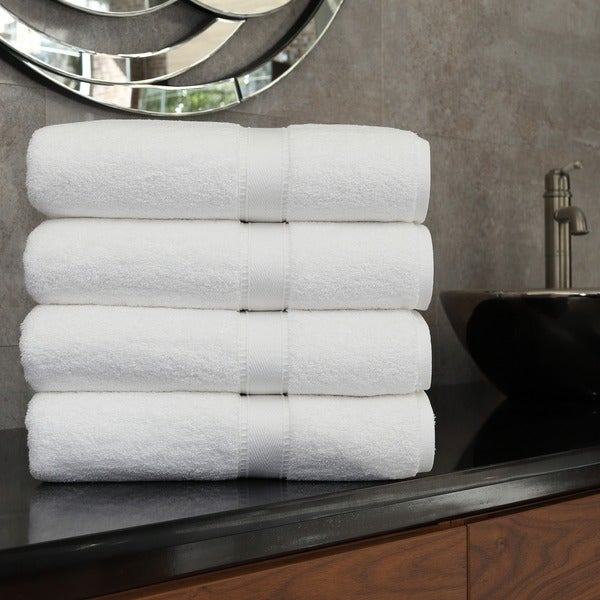 Authentic Hotel And Spa Turkish Cotton Bath Towel Set Of - Turkish cotton bath towels for small bathroom ideas