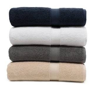 Authentic Hotel And Spa Turkish Cotton Bath Towel Set Of 4