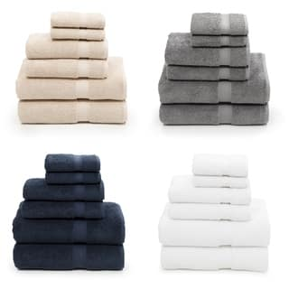 Authentic Hotel and Spa Turkish Cotton 6-piece Towel Set|https://ak1.ostkcdn.com/images/products/4717999/P12629895.jpg?impolicy=medium