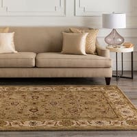 Hand-tufted Greenot Wool Area Rug - 6' x 9'
