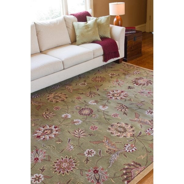 Hand-tufted Augusta Wool Rug (8' x 11')