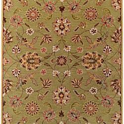 Hand-tufted Augusta Sage Wool Rug (7'6 x 9'6) - Thumbnail 1