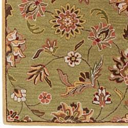 Hand-tufted Augusta Sage Wool Rug (7'6 x 9'6) - Thumbnail 2